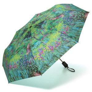 Accessories - Monet's Garden Silk Blend Compact Umbrella